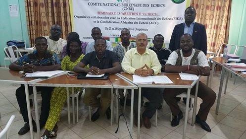 FIDE Arbiters' Seminar in Ouagadougou, Burkina Faso - RESULTS