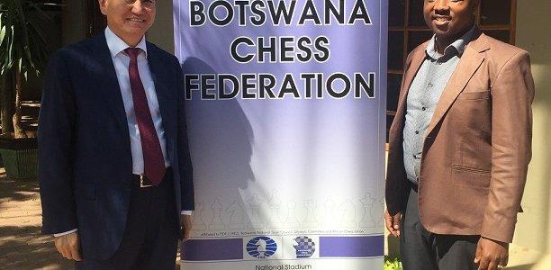FIDE President in Botswana
